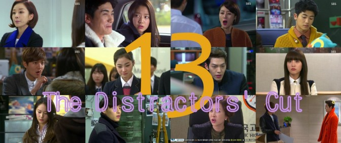 The Distractors' Cut: Heirs 13