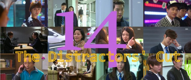 The Distractors' Cut: Heirs 14
