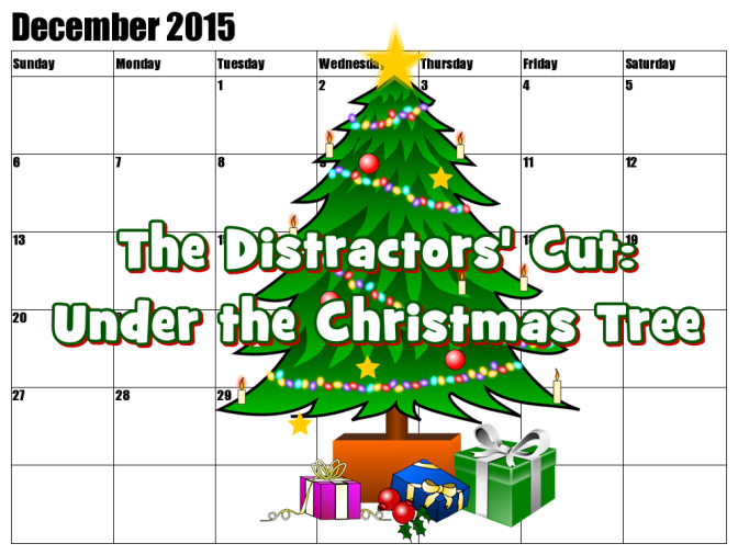 The Distractors' Holiday Cut: Under the Christmas Tree